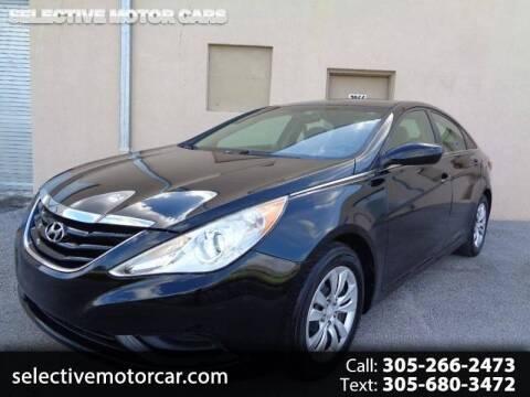 2013 Hyundai Sonata for sale at Selective Motor Cars in Miami FL