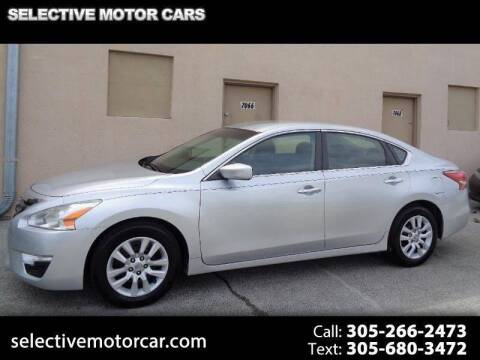 2013 Nissan Altima for sale at Selective Motor Cars in Miami FL