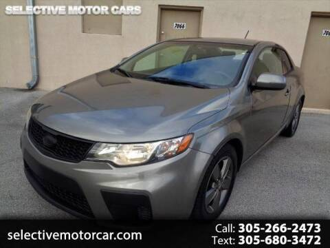 2012 Kia Forte Koup for sale at Selective Motor Cars in Miami FL