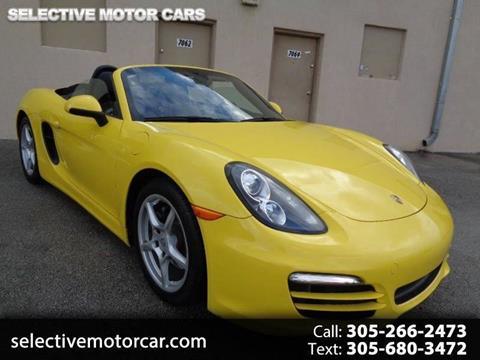 2014 Porsche Boxster for sale in Miami, FL