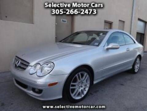 2009 Mercedes-Benz CLK for sale at Selective Motor Cars in Miami FL