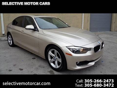 2013 BMW 3 Series for sale at Selective Motor Cars in Miami FL