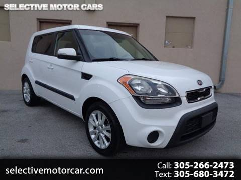 2013 Kia Soul for sale at Selective Motor Cars in Miami FL