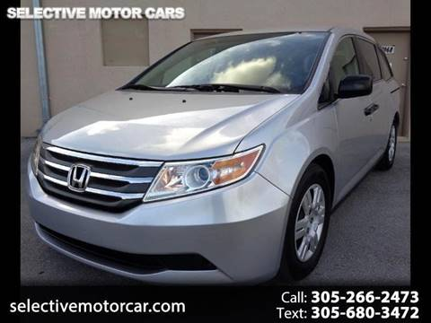 2013 Honda Odyssey for sale at Selective Motor Cars in Miami FL