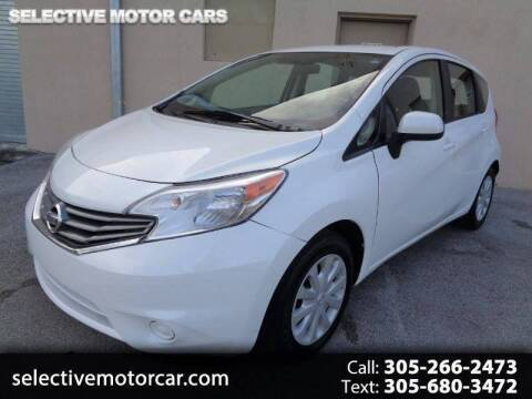 2014 Nissan Versa Note for sale at Selective Motor Cars in Miami FL
