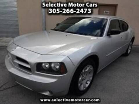 2006 Dodge Charger for sale at Selective Motor Cars in Miami FL