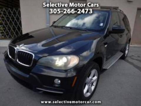 2009 BMW X5 for sale at Selective Motor Cars in Miami FL