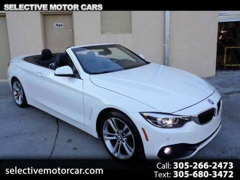 2018 BMW 4 Series for sale at Selective Motor Cars in Miami FL