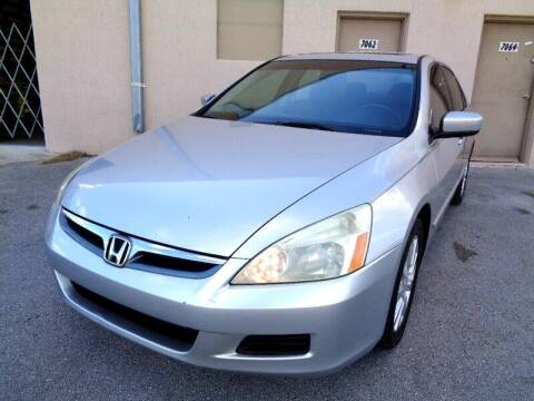 2006 Honda Accord for sale at Selective Motor Cars in Miami FL