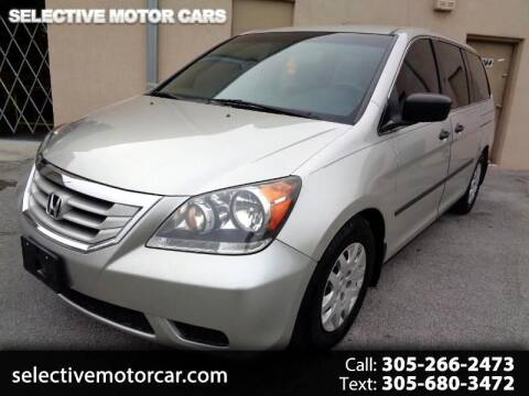 2008 Honda Odyssey for sale at Selective Motor Cars in Miami FL