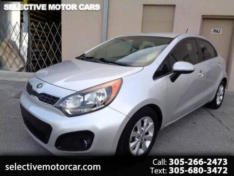 2015 Kia Rio 5-Door for sale at Selective Motor Cars in Miami FL