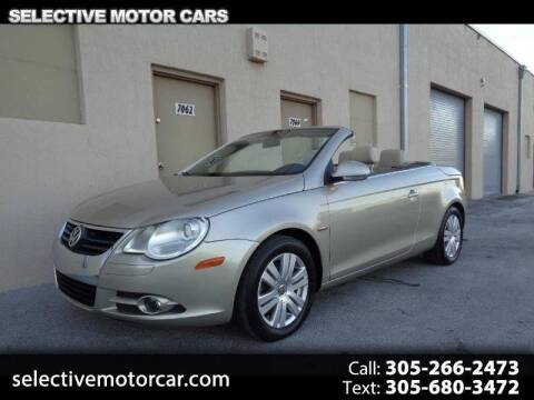 2007 Volkswagen Eos for sale at Selective Motor Cars in Miami FL
