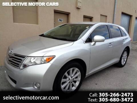 2010 Toyota Venza for sale at Selective Motor Cars in Miami FL