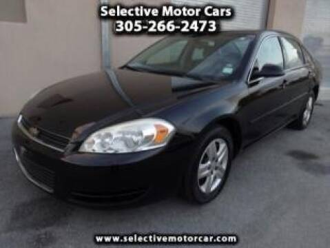 2006 Chevrolet Impala for sale at Selective Motor Cars in Miami FL