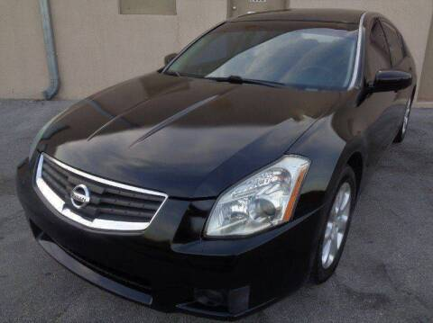 2007 Nissan Maxima for sale at Selective Motor Cars in Miami FL