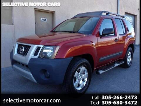 2012 Nissan Xterra for sale at Selective Motor Cars in Miami FL