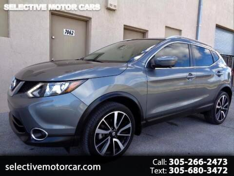 2017 Nissan Rogue Sport for sale at Selective Motor Cars in Miami FL