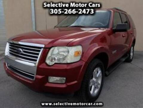 2007 Ford Explorer for sale at Selective Motor Cars in Miami FL