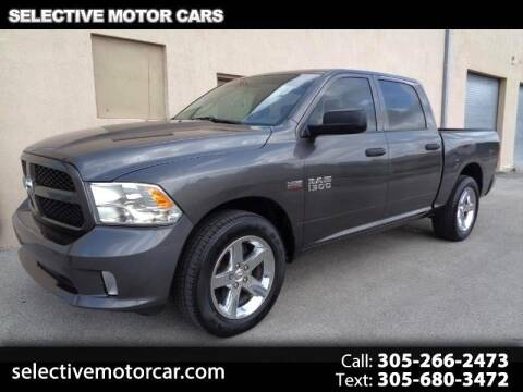 2015 RAM Ram Pickup 1500 Express for sale at Selective Motor Cars in Miami FL