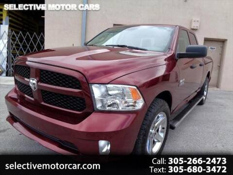 2017 RAM Ram Pickup 1500 Express for sale at Selective Motor Cars in Miami FL