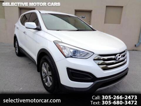 2016 Hyundai Santa Fe Sport for sale at Selective Motor Cars in Miami FL
