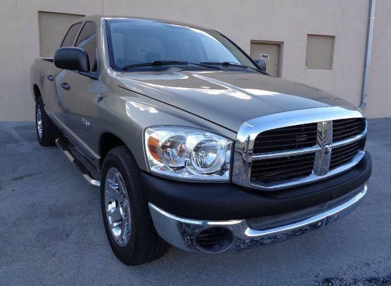 2008 Dodge Ram Pickup 1500 for sale at Selective Motor Cars in Miami FL