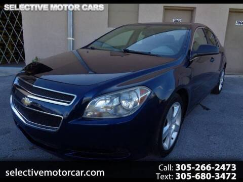 2011 Chevrolet Malibu for sale at Selective Motor Cars in Miami FL