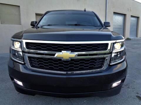2015 Chevrolet Suburban for sale at Selective Motor Cars in Miami FL