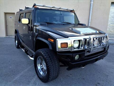 2004 HUMMER H2 for sale at Selective Motor Cars in Miami FL