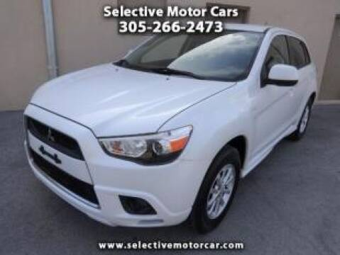 2011 Mitsubishi Outlander Sport for sale at Selective Motor Cars in Miami FL
