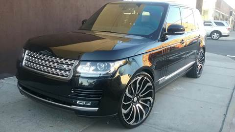 2015 Land Rover Range Rover for sale in Woodside, NY