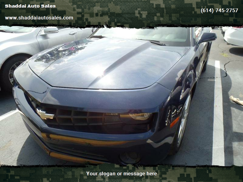 2011 Chevrolet Camaro Ls 2dr Coupe In Whitehall Oh Shaddai