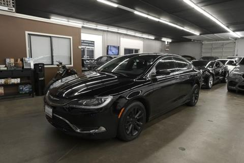 2015 Chrysler 200 for sale in Federal Way, WA