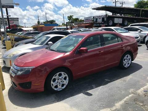 2010 Ford Fusion for sale at A Group Auto Brokers LLc in Opa-Locka FL