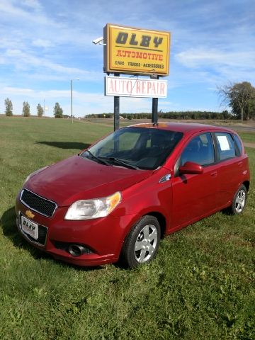 2011 Chevrolet Aveo for sale at OLBY AUTOMOTIVE SALES in Frederic WI