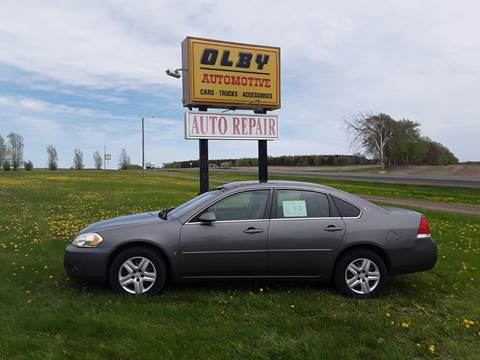 2008 Chevrolet Impala for sale in Frederic, WI