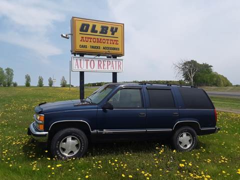 1997 Chevrolet Tahoe for sale in Frederic, WI