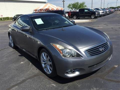 2011 Infiniti G37 Convertible for sale in Evansville, IN