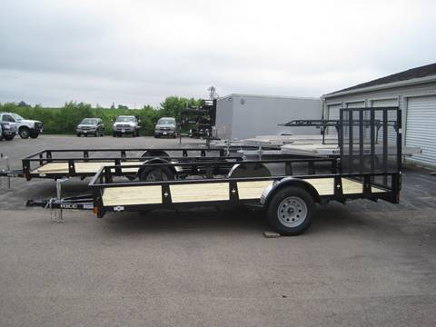 2020 Rice Trailers 82 IN X 14 FT UTILITY TRAILER for sale in Pearl City, IL