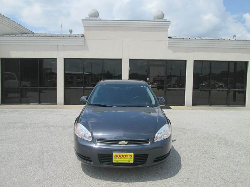 2008 Chevrolet Impala LT 4dr Sedan w/ roof rail curtain delete - Bryan TX