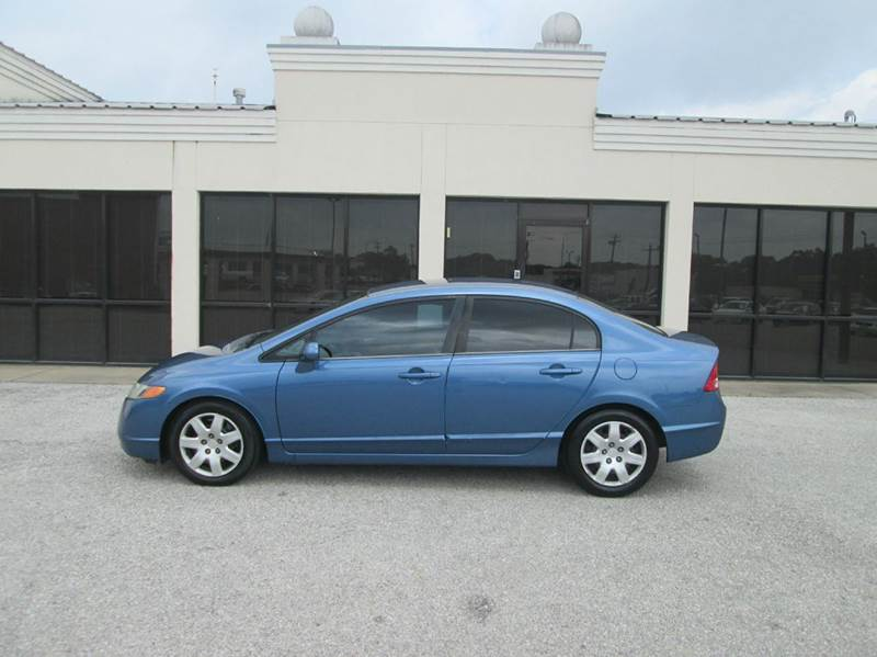 2006 Honda Civic LX 4dr Sedan w/automatic - Bryan TX