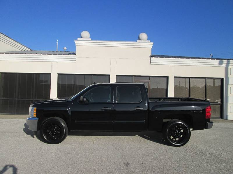 2012 Chevrolet Silverado 1500 4x2 LT 4dr Crew Cab 5.8 ft. SB - Bryan TX