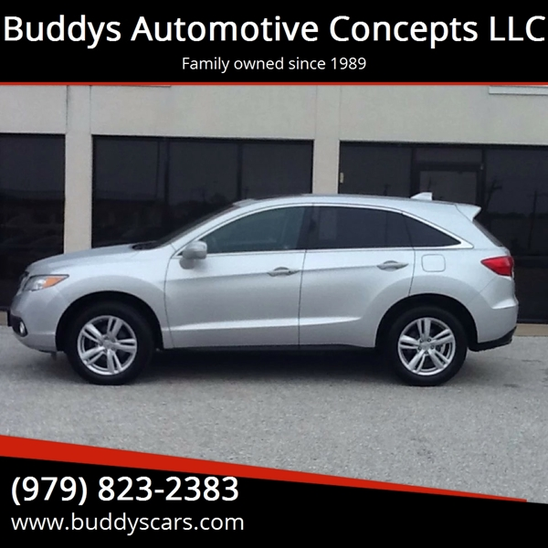 2013 acura rdx 4dr suv w technology package in bryan tx buddys automotive concepts llc. Black Bedroom Furniture Sets. Home Design Ideas