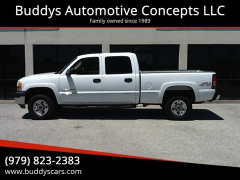 2002 GMC Sierra 2500HD for sale in Bryan, TX