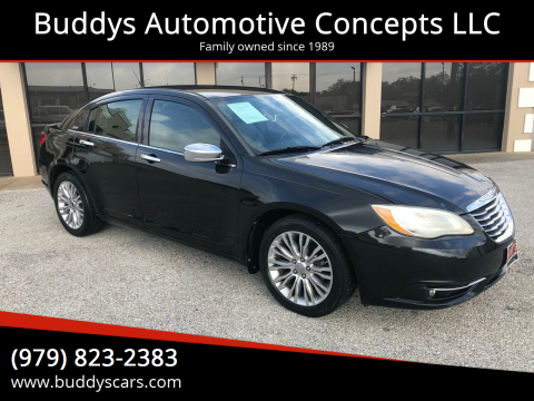 2011 Chrysler 200 for sale at Buddys Automotive Concepts LLC in Bryan TX