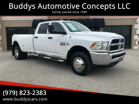 2014 RAM Ram Pickup 3500 for sale at Buddys Automotive Concepts LLC in Bryan TX