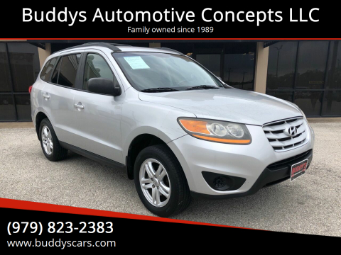 2011 Hyundai Santa Fe for sale at Buddys Automotive Concepts LLC in Bryan TX