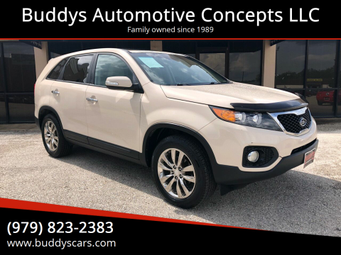 2011 Kia Sorento for sale at Buddys Automotive Concepts LLC in Bryan TX
