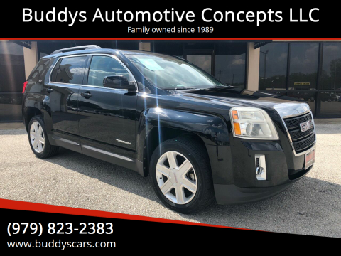 2011 GMC Terrain for sale at Buddys Automotive Concepts LLC in Bryan TX