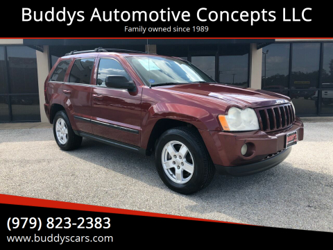 2007 Jeep Grand Cherokee for sale at Buddys Automotive Concepts LLC in Bryan TX